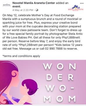 Mother's Day_Novotel