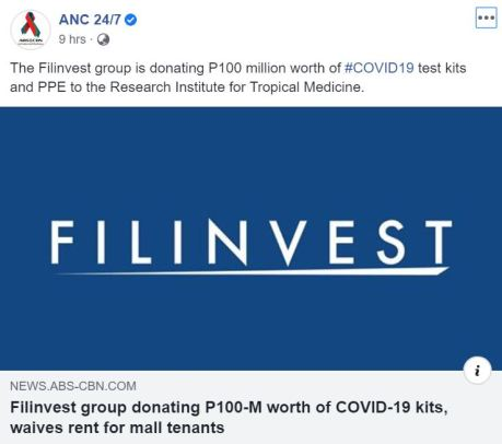 Blog on Covid_Filinvest