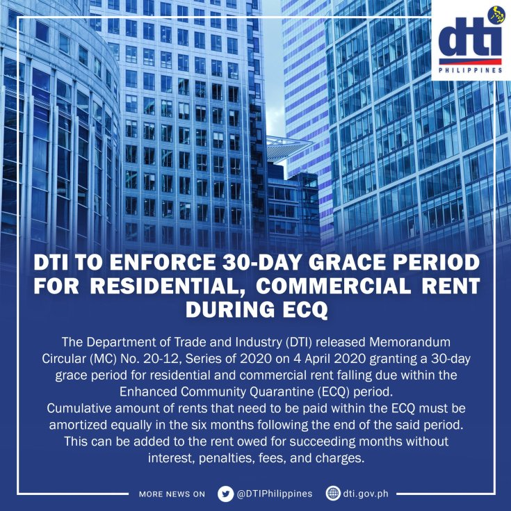 Blog_DTI to enforce 30-day grace period for residential, commercial rent during ECQ